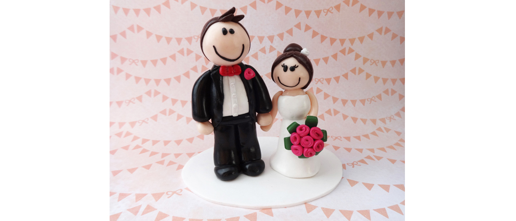 Cake topper Mariage – Paul & Sophie