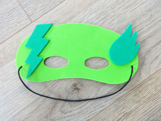 masque super héros diy