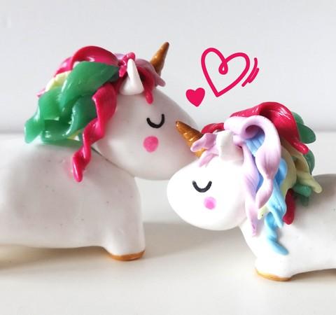 Figurine décorative licorne