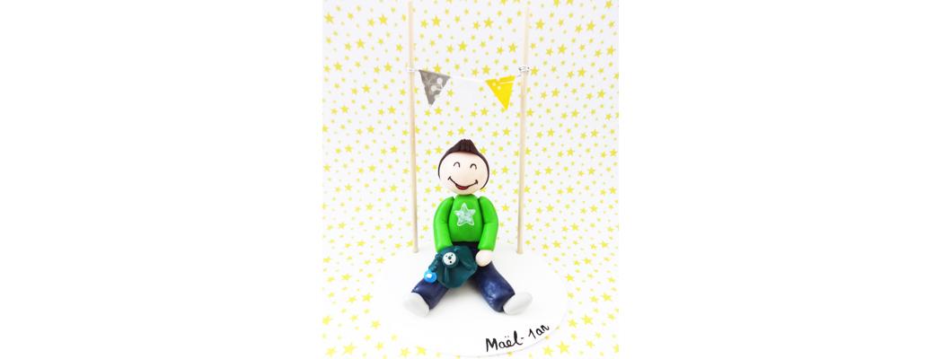 Figurine anniversaire – Maël – Fée Plaisir