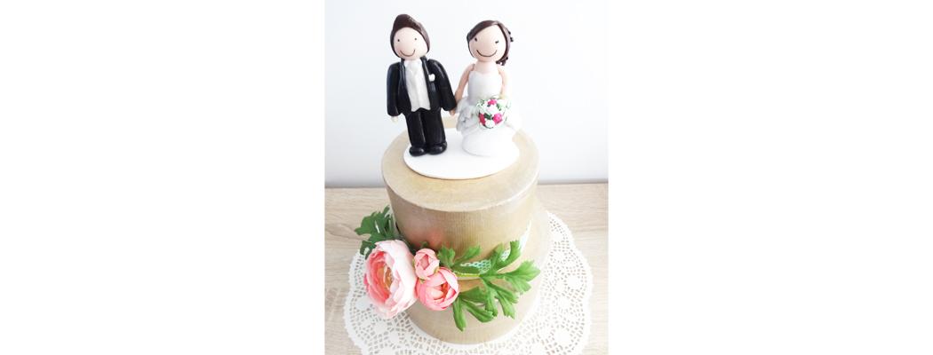 Figurine mariage Celine & Sylvain – Fée Plaisir
